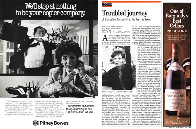 Article Preview: Troubled journey, November 1988 | Maclean's
