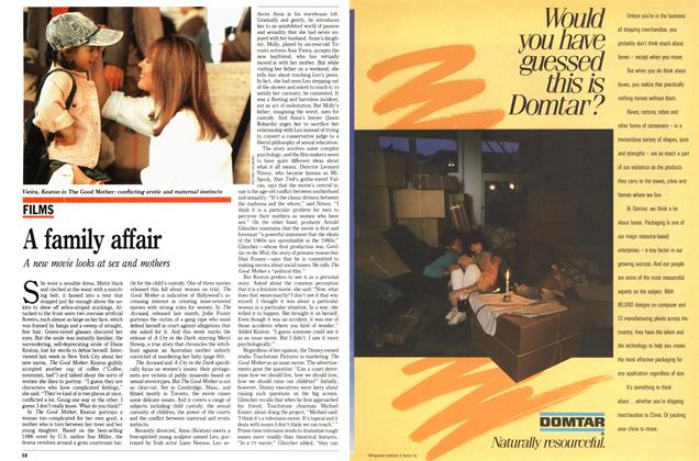 Article Preview: A family affair, November 1988 | Maclean's