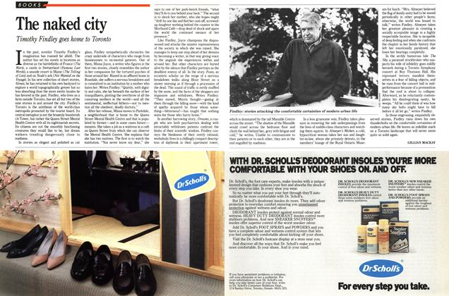 Article Preview: The naked city, November 1988 | Maclean's