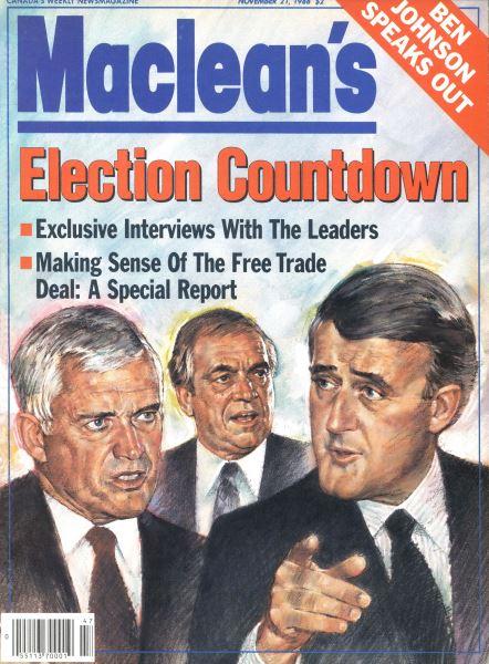 Issue: - November 1988 | Maclean's