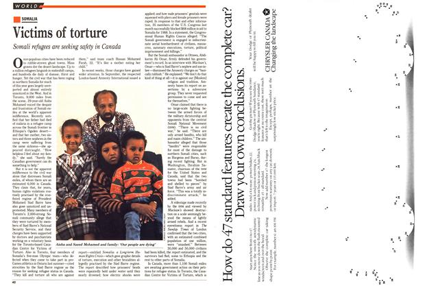 Article Preview: Victims of torture, November 1988 | Maclean's