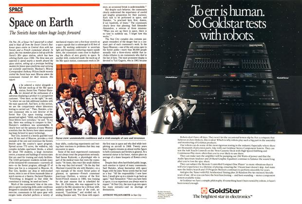 Article Preview: Space on Earth, November 1988 | Maclean's