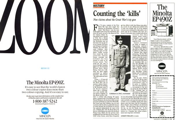 Article Preview: Counting the 'kills', November 1988 | Maclean's