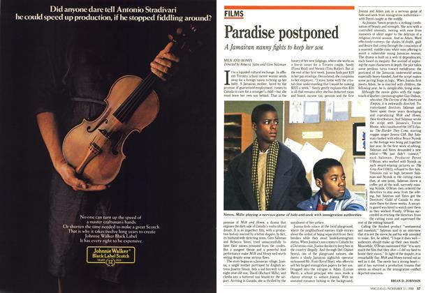 Article Preview: Paradise postponed, November 1988 | Maclean's