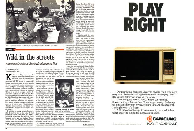 Article Preview: Wild in the streets, November 1988 | Maclean's