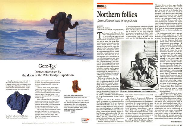 Article Preview: Northern follies, November 1988 | Maclean's