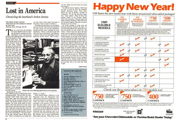 Article Preview: MACLEAN'S BEST-SELLER LIST, November 1988 | Maclean's