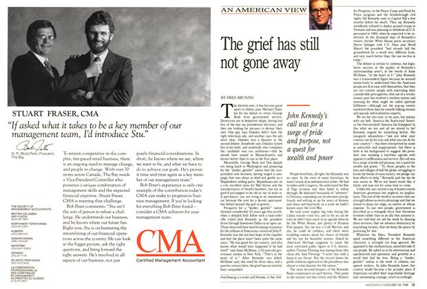 Article Preview: The grief has still not gone away, November 1988 | Maclean's