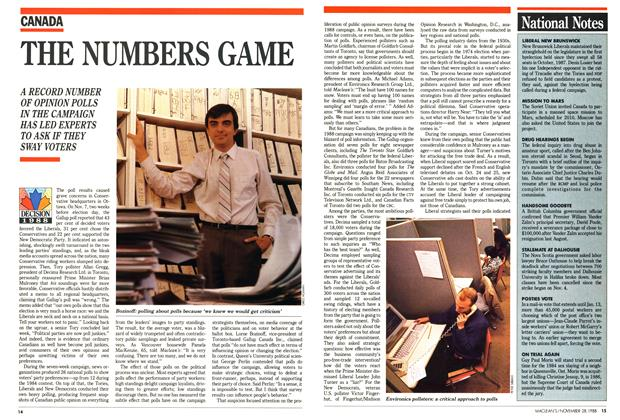 Article Preview: THE NUMBERS GAME, November 1988 | Maclean's