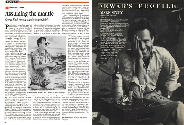 Article Preview: Assuming the mantle, November 1988 | Maclean's