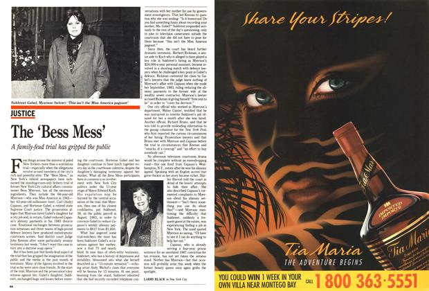 Article Preview: The 'Bess Mess', November 1988 | Maclean's