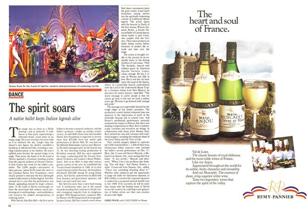 Article Preview: The spirit soars, November 1988 | Maclean's