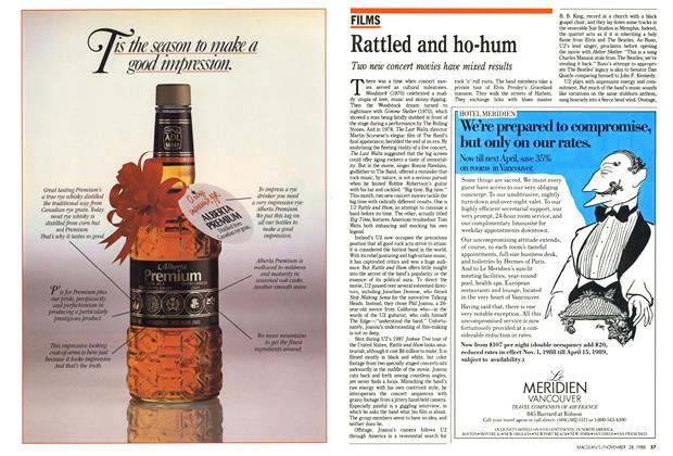 Article Preview: Rattled and ho-hum, November 1988 | Maclean's