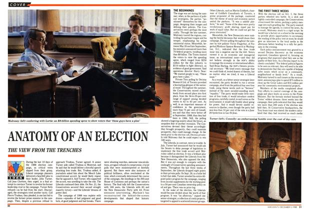 Article Preview: ANATOMY OF AN ELECTION, December 1988 | Maclean's