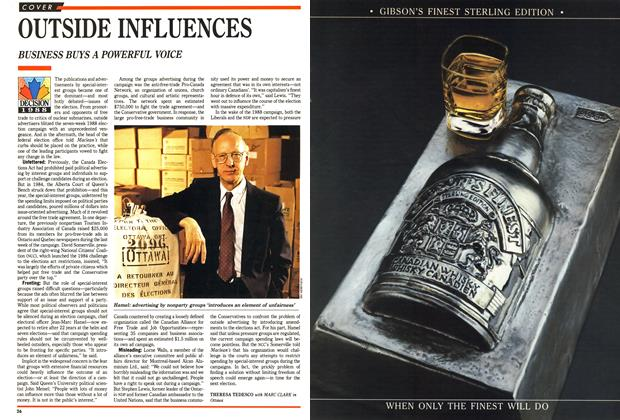 Article Preview: OUTSIDE INFLUENCES, December 1988 | Maclean's