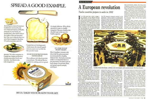 Article Preview: A European revolution, December 1988 | Maclean's