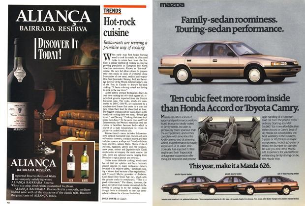 Article Preview: Hot-rock cuisine, December 1988 | Maclean's