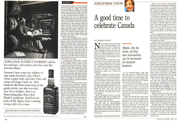Article Preview: A good time to celebrate Canada, December 1988 | Maclean's