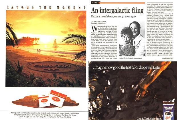 Article Preview: An intergalactic fling, December 1988 | Maclean's