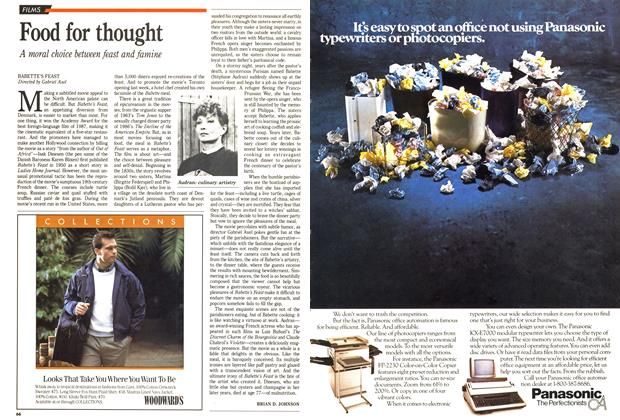Article Preview: Food for thought, December 1988 | Maclean's