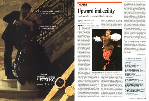 Article Preview: Upward imbecility, December 1988 | Maclean's