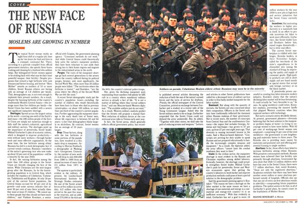 Article Preview: THE NEW FACE OF RUSSIA, December 1988 | Maclean's