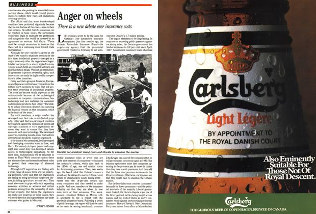 Article Preview: Anger on wheels, December 1988 | Maclean's