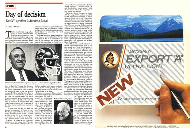 Article Preview: Day of decision, December 1988 | Maclean's