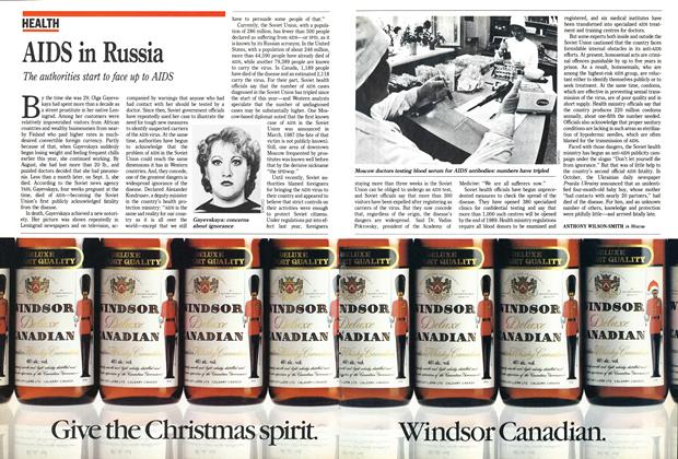 Article Preview: AIDS in Russia, December 1988 | Maclean's
