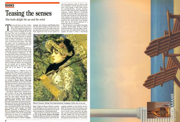 Article Preview: Teasing the senses, December 1988 | Maclean's