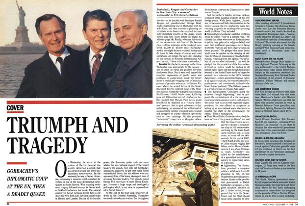Article Preview: TRIUMPH AND TRAGEDY, December 1988 | Maclean's
