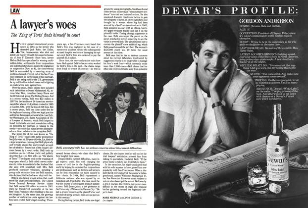 Article Preview: A lawyer's woes, December 1988 | Maclean's