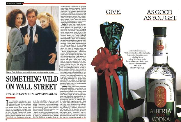 Article Preview: SOMETHING WILD ON WALL STREET, December 1988 | Maclean's
