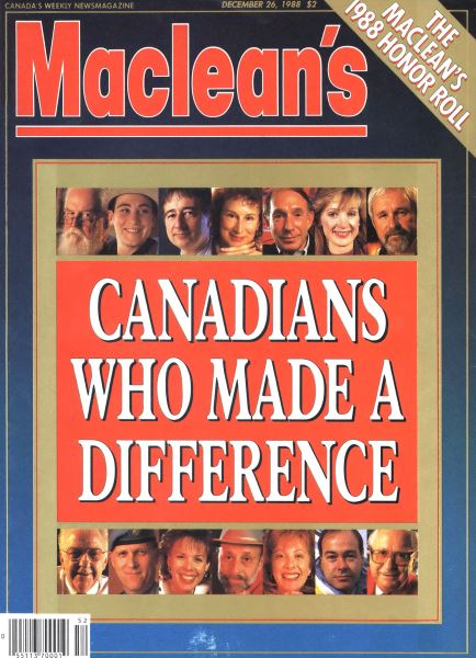 Issue: - December 1988 | Maclean's