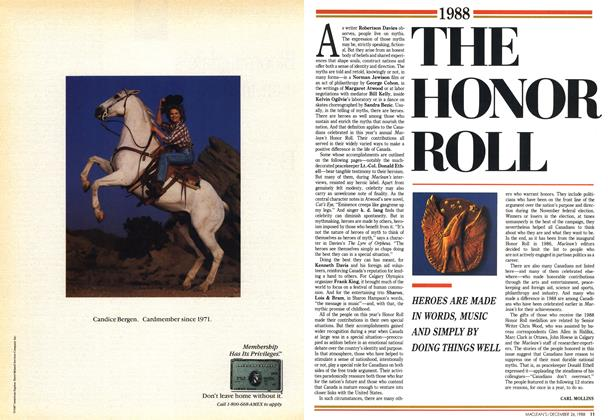 Article Preview: THE HONOR ROLL, December 1988 | Maclean's