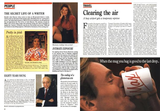 Article Preview: Clearing the air, December 1988 | Maclean's