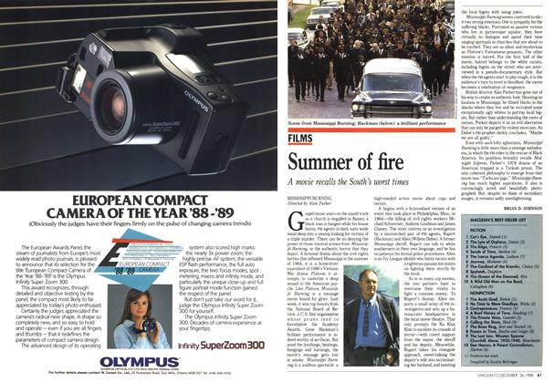 Article Preview: Summer of fire, December 1988 | Maclean's