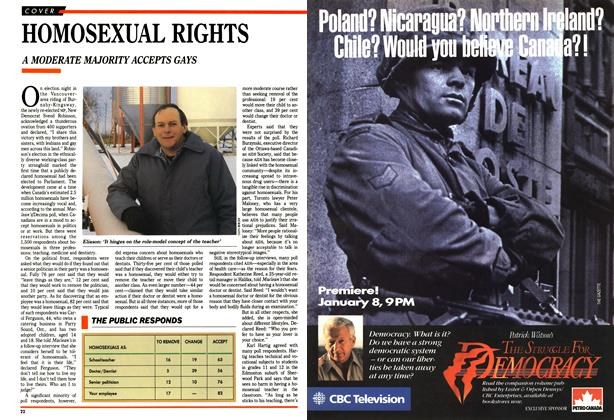 Article Preview: HOMOSEXUAL RIGHTS, January 1989 | Maclean's