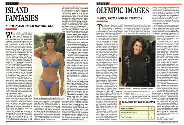 Article Preview: OLYMPIC IMAGES, January 1989 | Maclean's