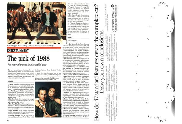 Article Preview: The pick of 1988, January 1989 | Maclean's