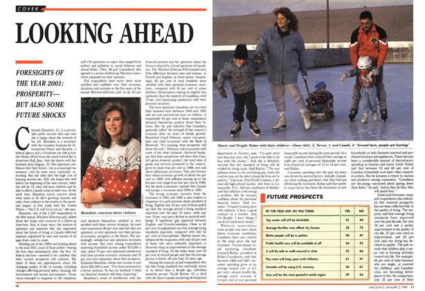 Article Preview: LOOKING AHEAD, January 1989 | Maclean's
