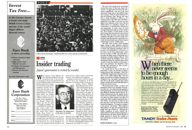Article Preview: Insider trading, January 1989 | Maclean's