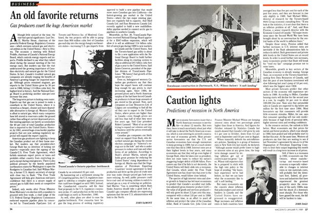Article Preview: An old favorite returns, January 1989 | Maclean's