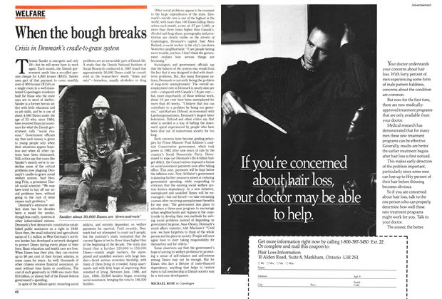 Article Preview: When the bough breaks, January 1989 | Maclean's