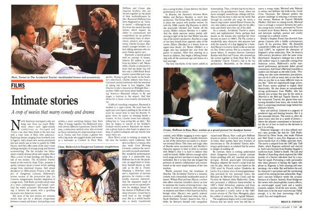 Article Preview: Intimate stories, January 1989 | Maclean's
