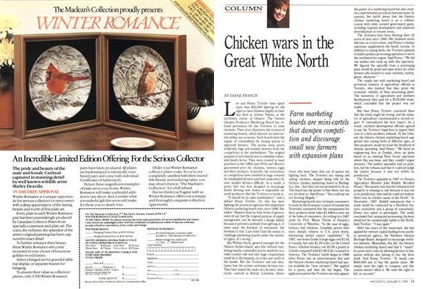 Article Preview: Chicken wars in the Great White North, January 1989 | Maclean's