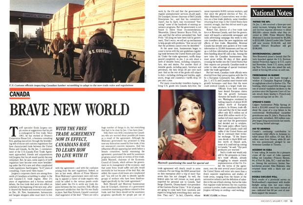 Article Preview: BRAVE NEW WORLD, January 1989 | Maclean's