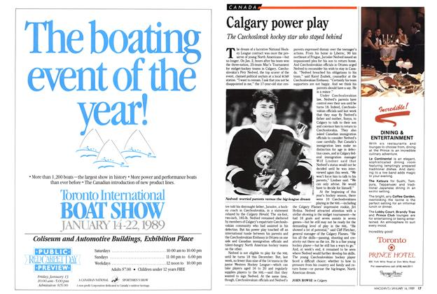 Article Preview: Calgary power play, January 1989 | Maclean's