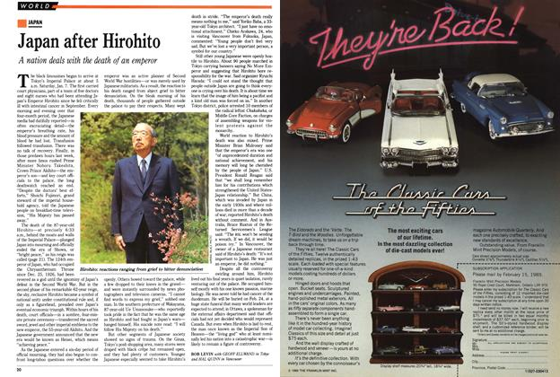 Article Preview: Japan after Hirohito, January 1989 | Maclean's