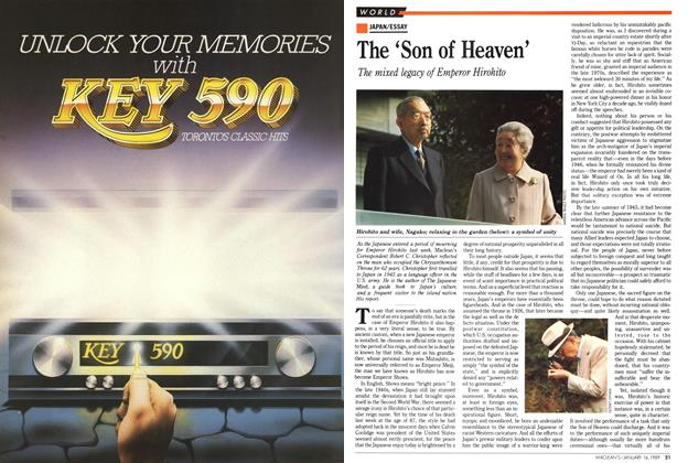 Article Preview: The 'Son of Heaven', January 1989 | Maclean's